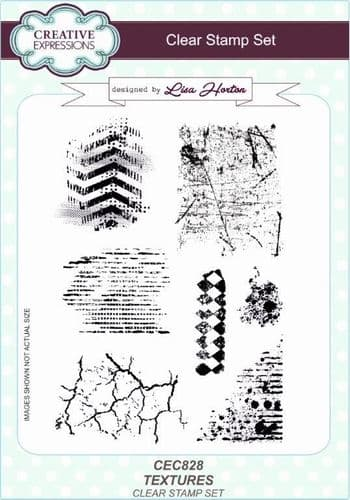 Creative Expressions - Texture A5 Clear Stamp Set