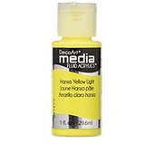 DecoArt Media Fluid Acrylics - Hansa Yellow Light - DMFA16