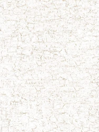 Decopatch Paper - Number 444 - White with Gold Crackle