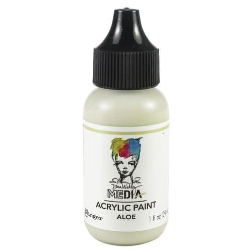 Dina Wakley Media Heavy Body Acrylic Paint - Aloe - MDQ65579