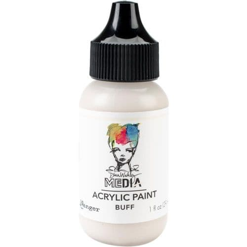 Dina Wakley Media Heavy Body Acrylic Paint - Buff- MDQ59806