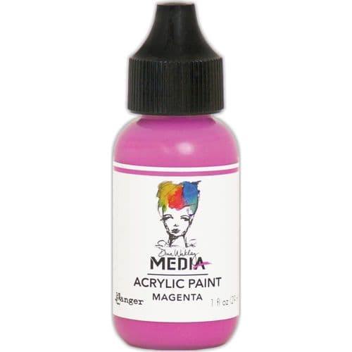 Dina Wakley Media Heavy Body Acrylic Paint - Magenta - MDQ654047