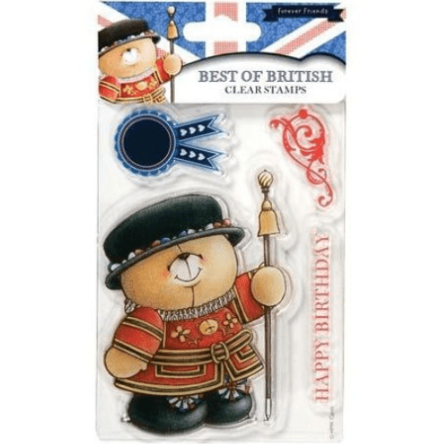 DocraftsForever Friends Clear Stamp- Best of British - Beefeater