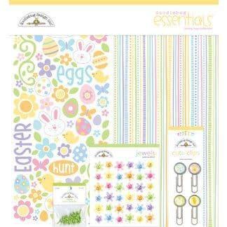 Doodlebug Essentials Collection Kit - Bunny Hop
