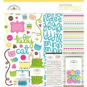 Doodlebug Essentials Collection Kit - Pretty Kitty