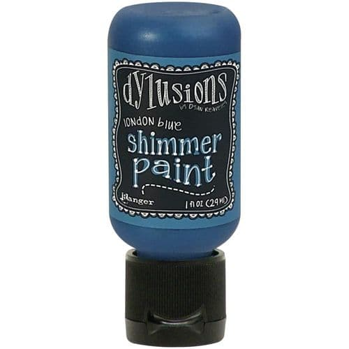 Dylusions Shimmer Paint - London Blue
