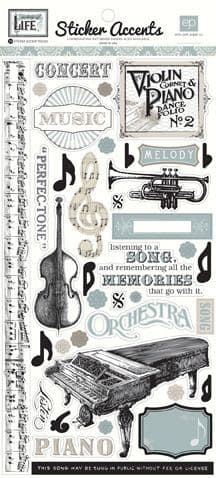 Echo Park - Sticker Accents - Melody of Life