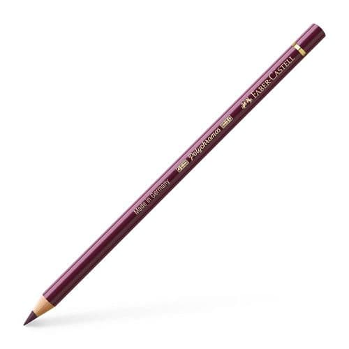 Faber-Castell PolychromosColour Pencil - Red Violet #194