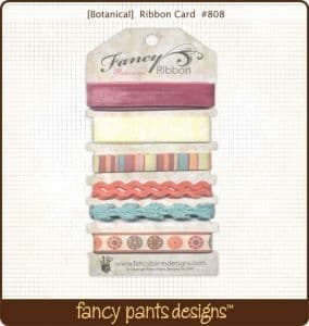 Fancy Pants Ribbons - Botanical