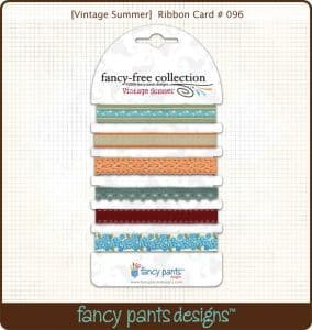 Fancy Pants Vintage Summer Ribbon