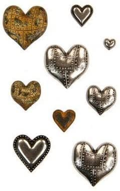 Finnabair Mechanicals - Metal Hearts - 965631