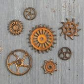 Finnabair Mechanicals - Rusty Gears - 963439