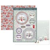 Hunkydory Die-Cut Topper Set - Christmas Cottage