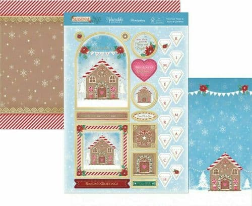 Hunkydory Die-Cut Topper Set - From Our House to Yours at Christmas