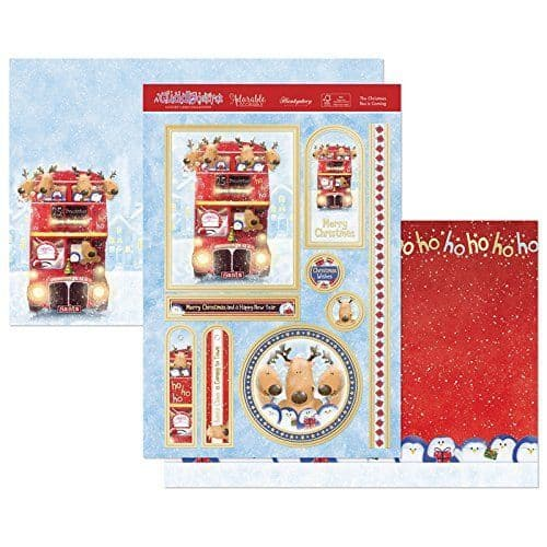 Hunkydory Die-Cut Topper Set - The Christmas Bus is Coming