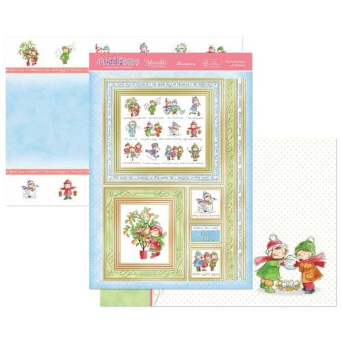 Hunkydory Die-Cut Topper Set - The Twelve Days of Christmas