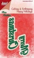 Joy Crafts Cutting & Embossing - Merry Christmas - 6002/2027
