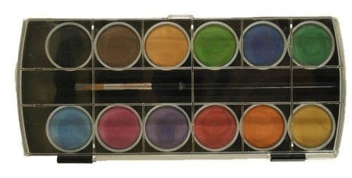 Joy! Crafts Watercolour Palette - 12 Colours