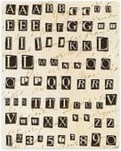 K&Company - Clearly Yours - Life's Journey Domed Random Alphabet - 557116
