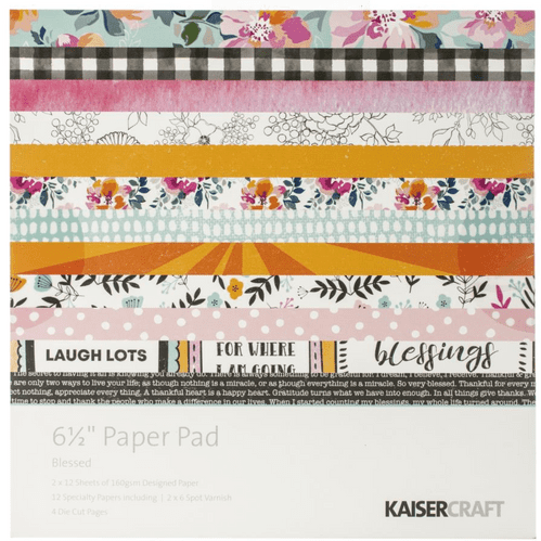 Kaisercraft 6½ inch Paper Pad - Blessed
