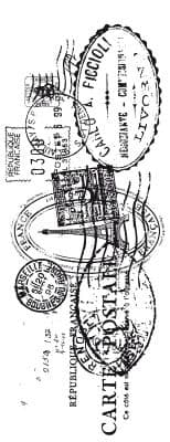 KAISERCRAFT - Clear Stamp - Postmarks - CS802