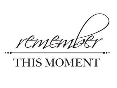 KAISERCRAFT - Mini Clear Stamp - Remember this Moment - CS934