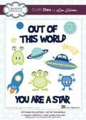 Lisa Horton Craft Dies - Stitched Collection - Out Of This World - CEDLH1015