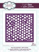 Lisa Horton Craft Dies - Tile Collection - Bitty Dots - CEDLH1053