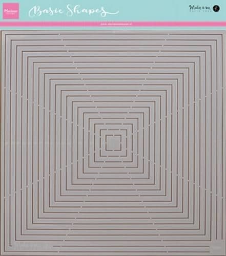 Marianne Stencil - Karin's Basic Shapes Squares - PS8007