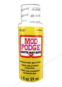 Mod Podge - Waterbase sealer, glue & finish - Matte 2 oz