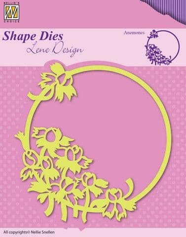 Nellie's Choice Shape Dies - Anemones -SDL015