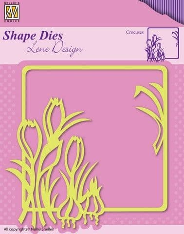 Nellie's Choice Shape Dies - Crocuses - SDL016