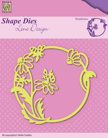Nellie's Choice Shape Dies - Summer - Bumblebee - SDL021