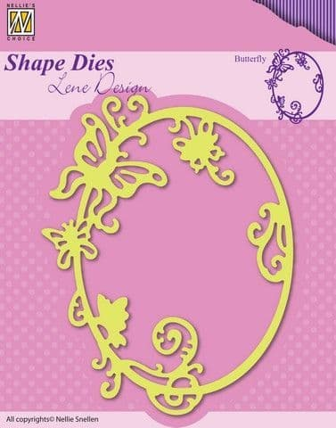 Nellie's Choice Shape Dies - Summer - Butterfly - SDL022