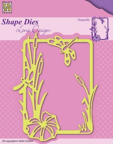 Nellie's Choice Shape Dies - Summer - Dragonfly - SDL020