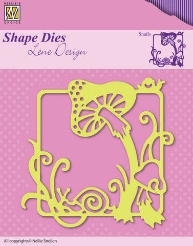 Nellie's Choice Shape Dies - Summer - Snails - SDL019