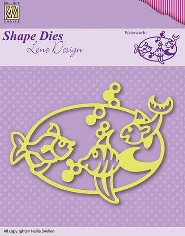 Nellie's Choice Shape Dies - Waterworld - SDL002