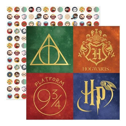 "Paper House Double-Sided Cardstock 12""X12"" - Harry Potter"