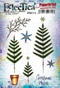 PaperArtsy Eclectica E³ Kay Carley 11 – Christmas wishes – EKC11