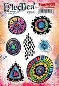 PaperArtsy Eclectica E³ Mounted Rubber Stamp Set - Tracy Scott 32 – ETS32