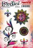 PaperArtsy Eclectica E³ Mounted Rubber Stamp Set - Tracy Scott 33 – ETS33