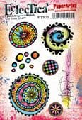 PaperArtsy Eclectica E³ Mounted Rubber Stamp Set - Tracy Scott 35 – ETS35