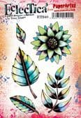 PaperArtsy Eclectica E³ Mounted Rubber Stamp Set - Tracy Scott 40 – ETS40