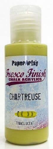 Paperartsy Fresco Finish Chalk Paint - Chartreuse