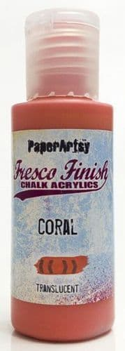 Paperartsy Fresco Finish Chalk Paint - Coral