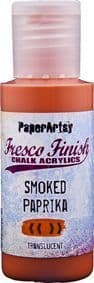 Paperartsy Fresco Finish Chalk Paint - Smoked Paprika