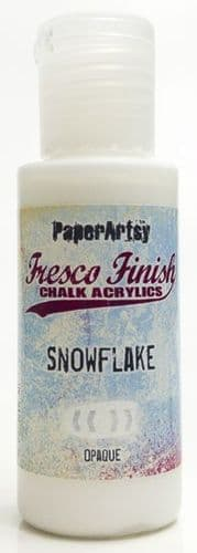 Paperartsy Fresco Finish Chalk Paint - Snowflake