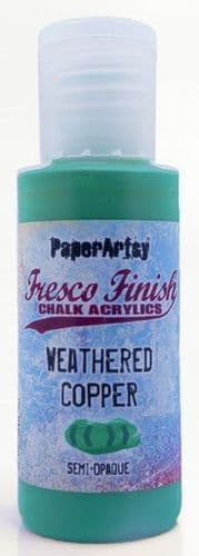 Paperartsy Fresco Finish Chalk Paint - Weathered Copper {Tracy Scott}