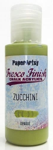 Paperartsy Fresco Finish Chalk Paint - Zucchini