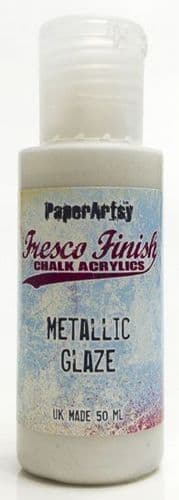 Paperartsy Fresco Finish Metallic Glaze